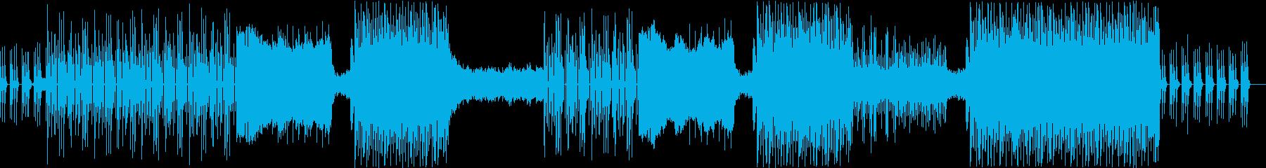 展開多めのポップな洋楽ビートの再生済みの波形