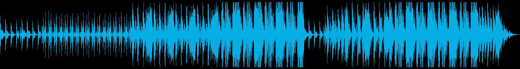 幻想的 切ない トラップビートの再生済みの波形