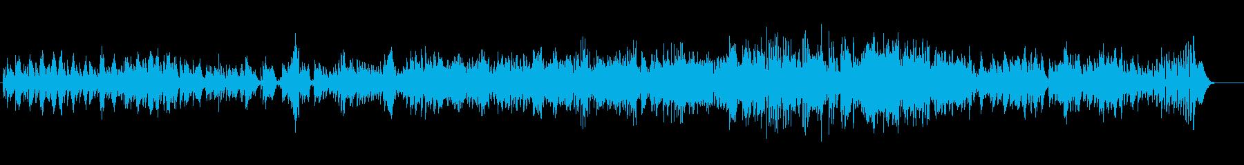 カフェにぴったりのモダンピアノジャズの再生済みの波形