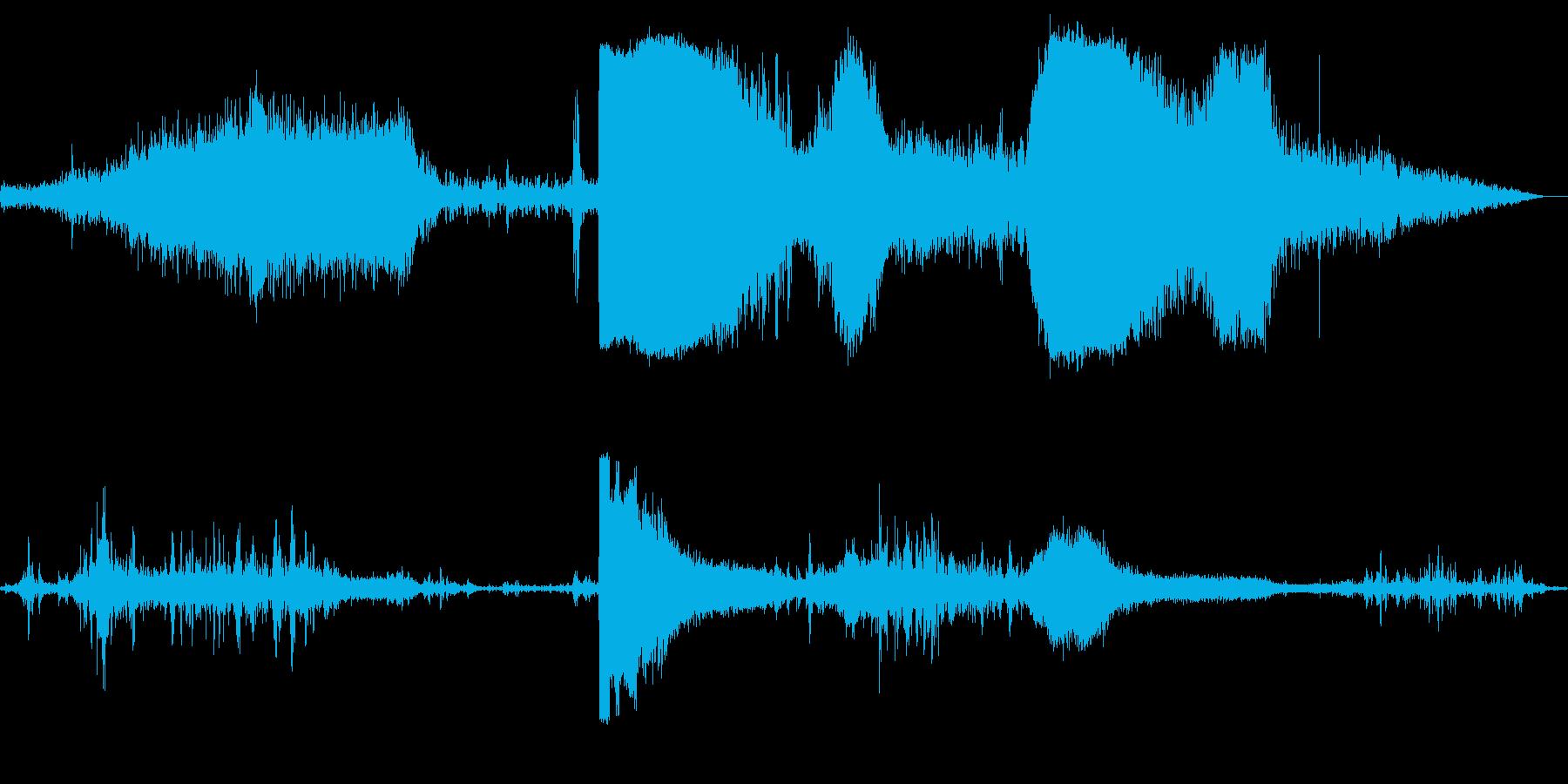 フォードTバードイン、ストップ、ア...の再生済みの波形