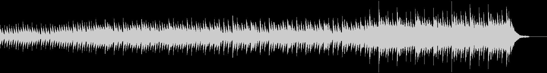【1分】暖かで感動的なピアノの企業VPの未再生の波形