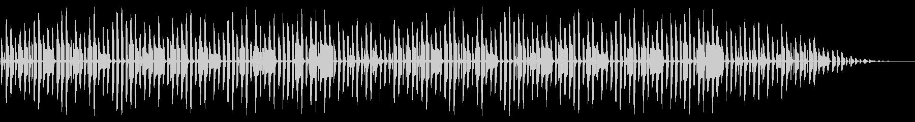 童謡「背くらべ」脱力系アレンジの未再生の波形