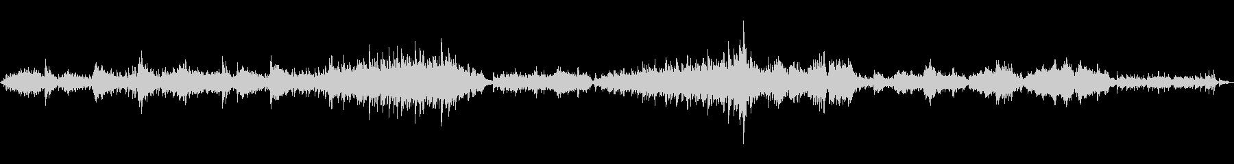 ラフマニノフの前奏曲を原曲でピアノ演奏の未再生の波形