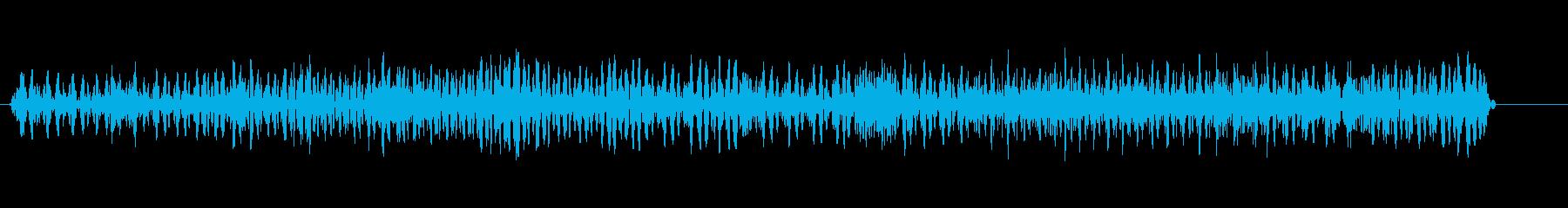 ブゥ〜ンブゥ〜ン(不快な感じのノイズ音)の再生済みの波形