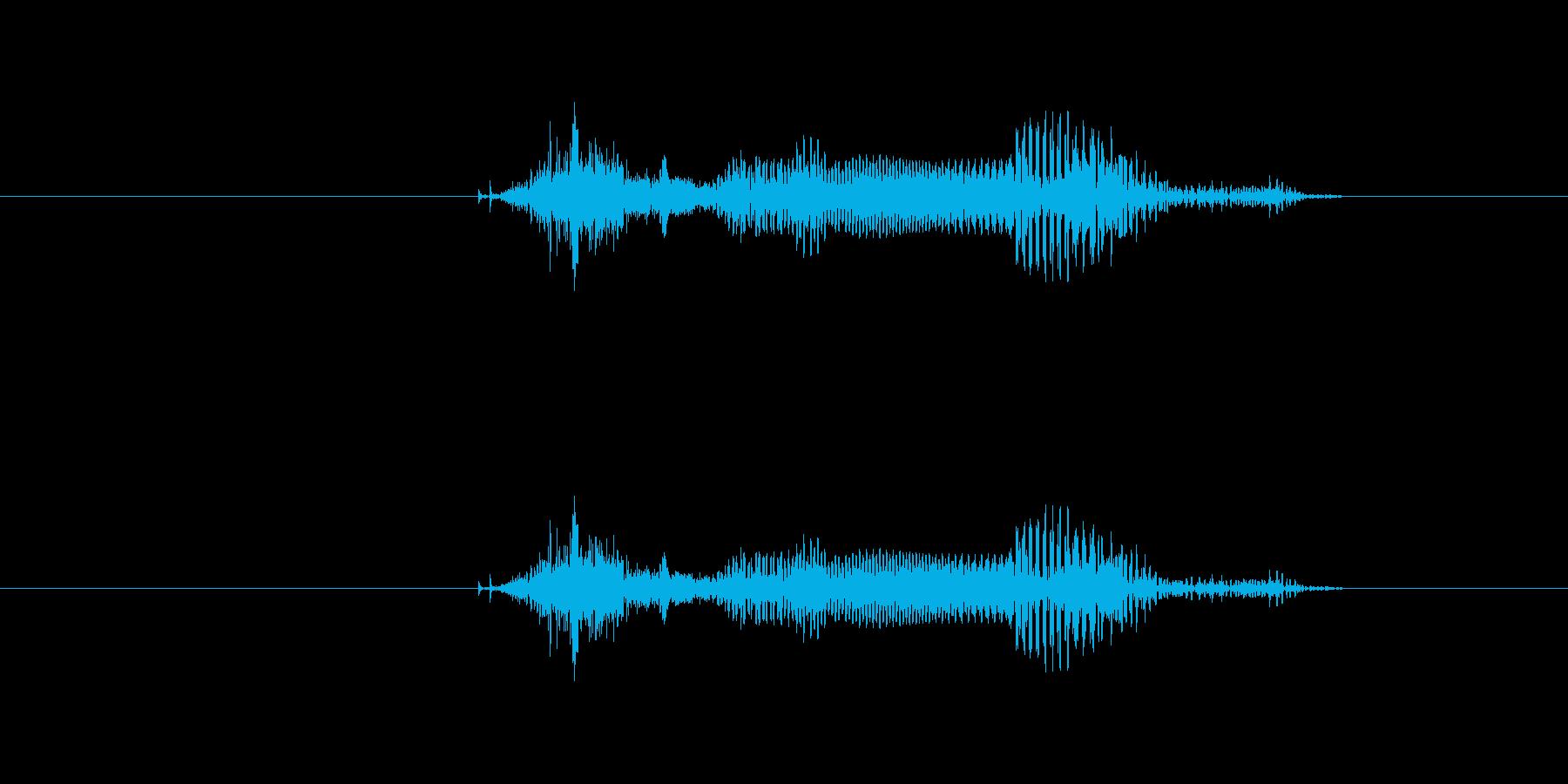 ツモ の再生済みの波形