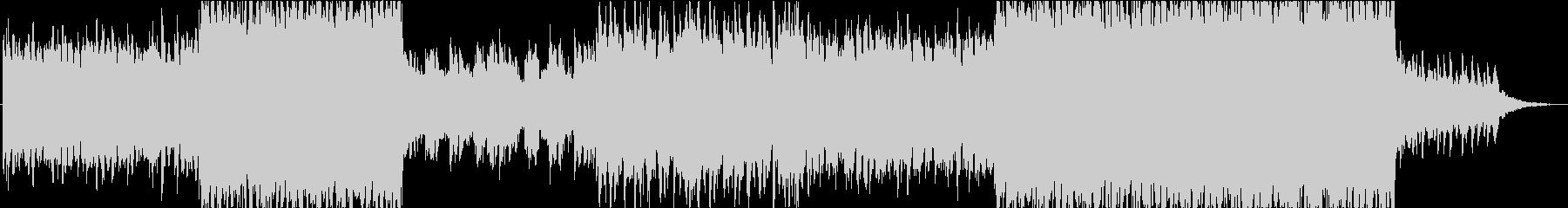 切ない系Jポップ・R&Bトラックの未再生の波形
