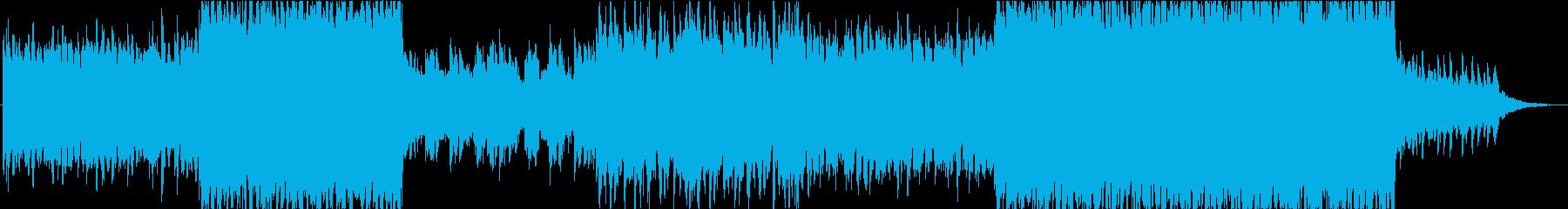 【BGM】透明感のあるJ-R&Bトラックの再生済みの波形