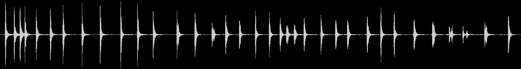 トイラチェット:ショートスピントイの未再生の波形
