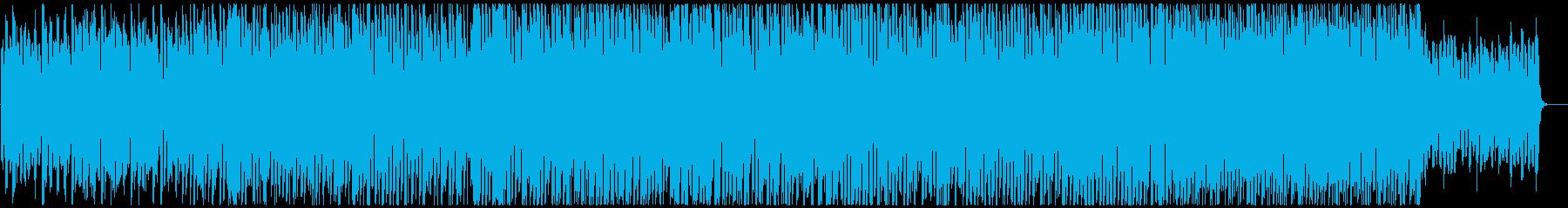 鐘ベル鈴で結婚式パーティ系明るいロックの再生済みの波形