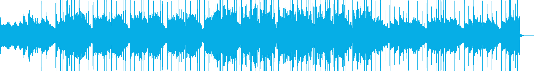 哀愁がある感じのLo-Fiの再生済みの波形