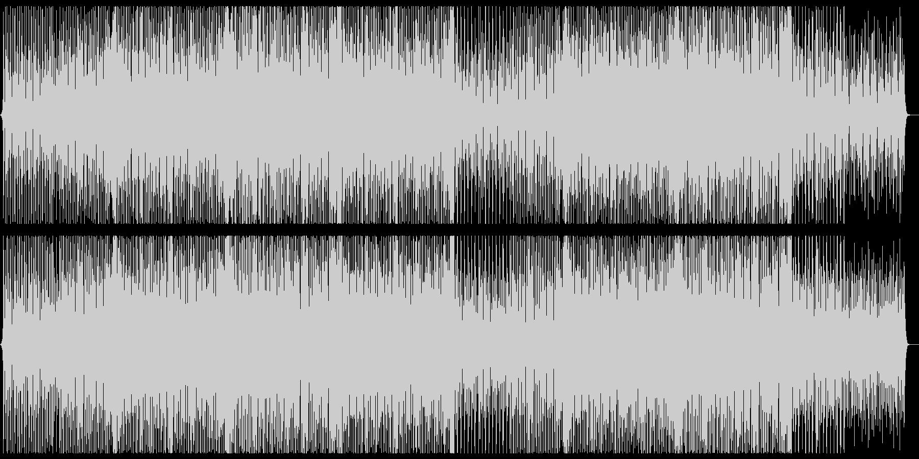ほんわか口笛コンセプトムービー風の未再生の波形