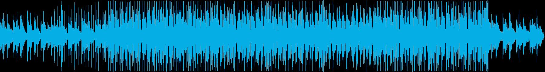 神秘的 シンプル ゲームの再生済みの波形