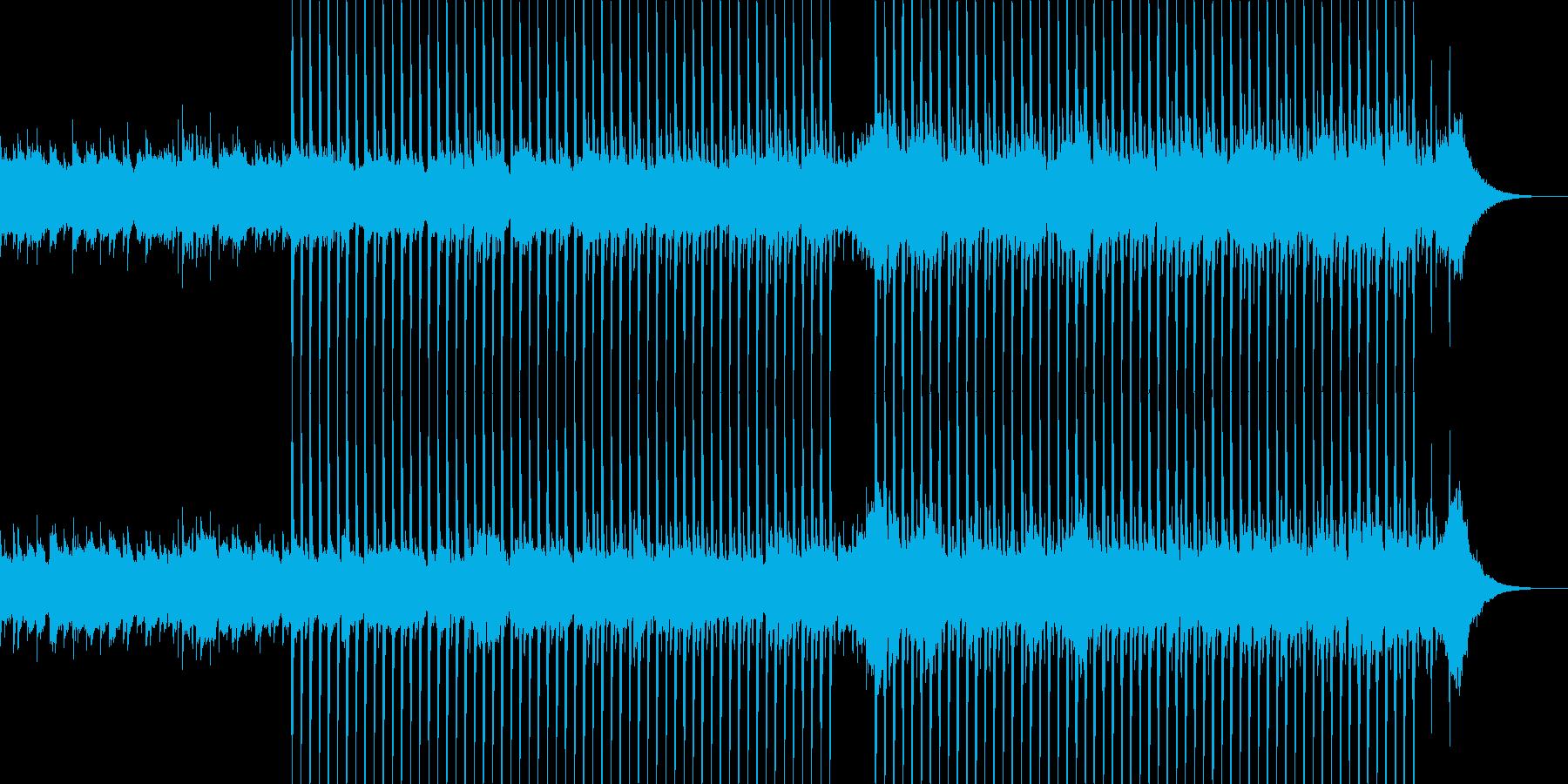 企業VP系22、爽やかギター4つ打ち1bの再生済みの波形