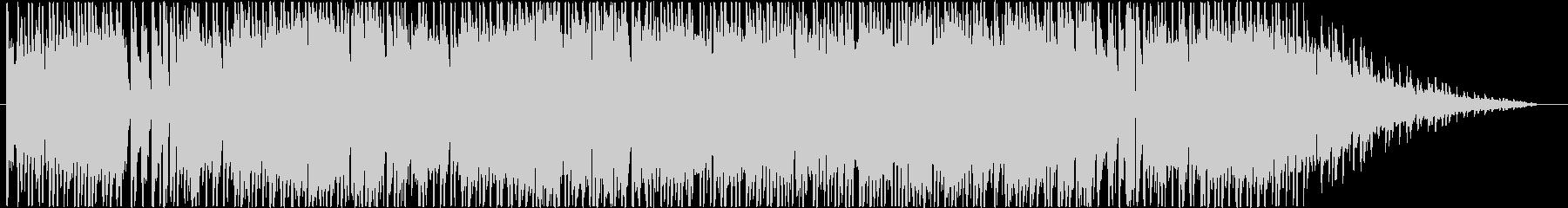 シューティングゲーム風BGMの未再生の波形