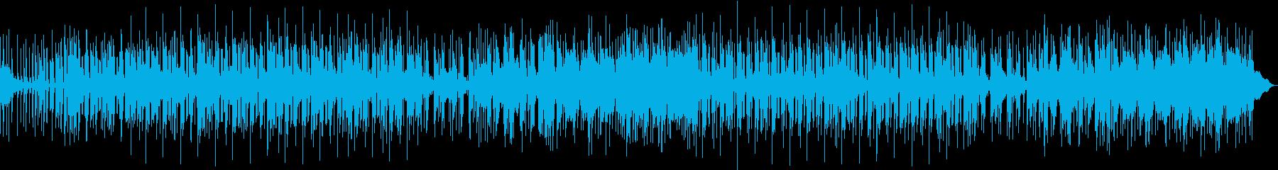小粋なエレピのアシッドジャズの再生済みの波形