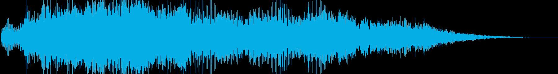 ファンファーレみたいにも使えるの再生済みの波形