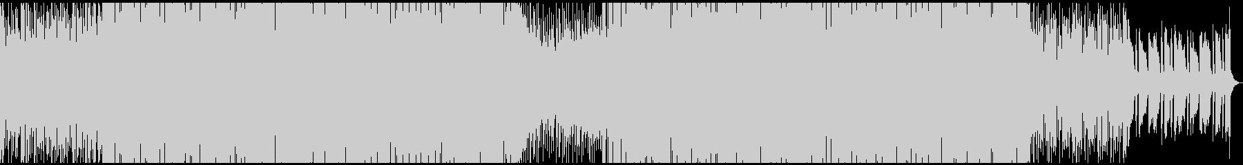 ノリの良いベースラインのフュージョンの未再生の波形