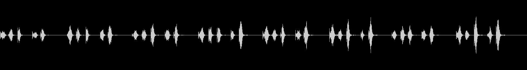RHYTHM、MUSICその他のパ...の未再生の波形