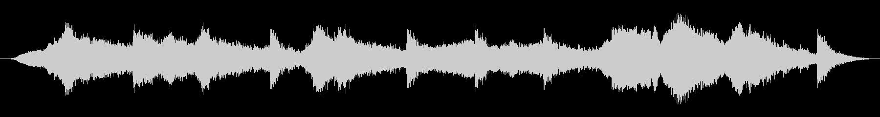 ゴーストハンマーの未再生の波形