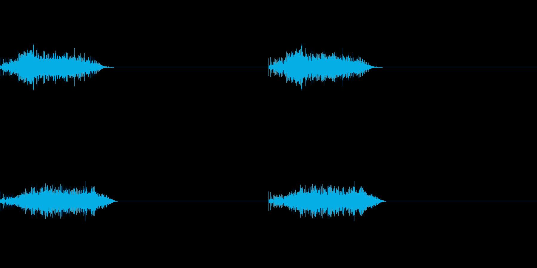 ピコーンピコーンの再生済みの波形