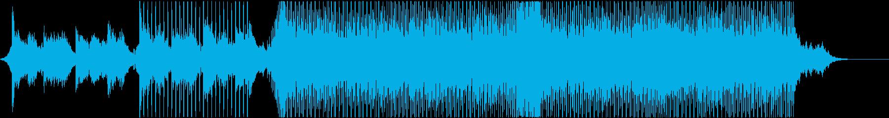 爽やかな夏の森のようなシンセ/短verの再生済みの波形