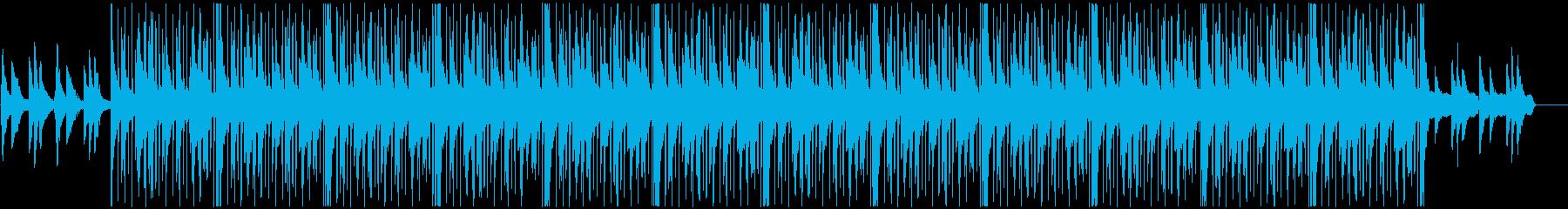 ゆったりと落ち着いた雰囲気のヒップホップの再生済みの波形