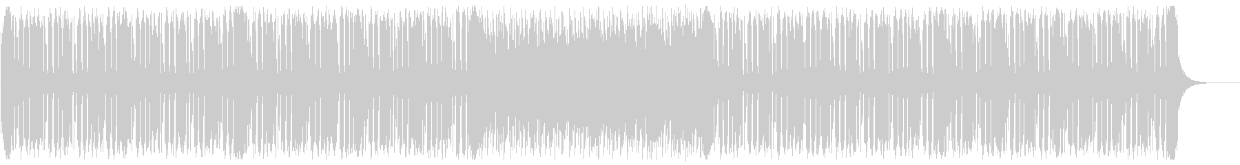 スタイリッシュなフューチャーベースの未再生の波形