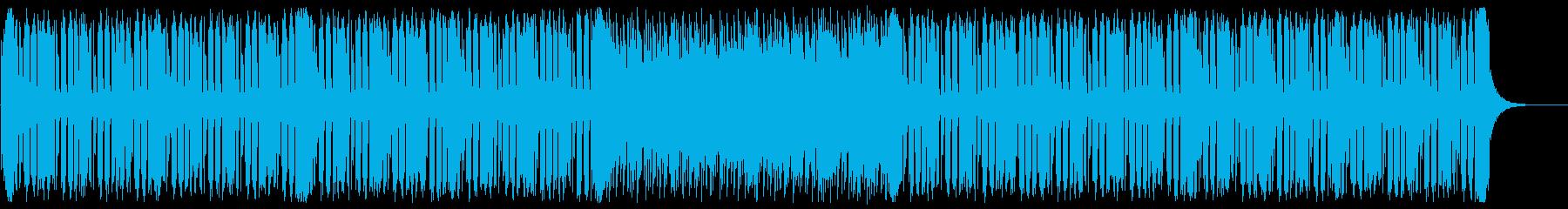 スタイリッシュなフューチャーベースの再生済みの波形