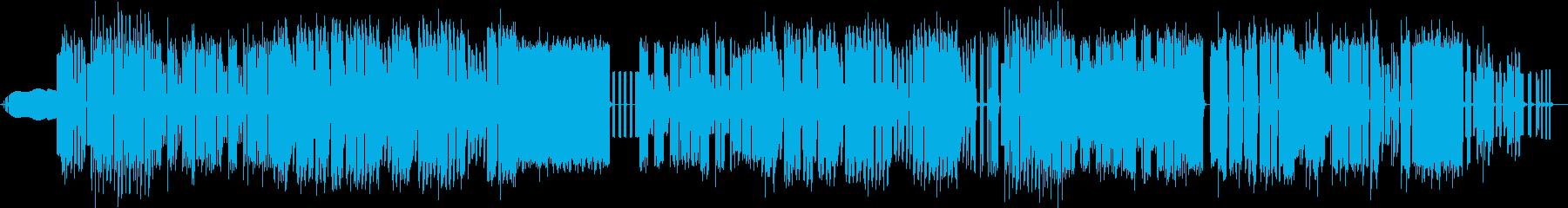 アクション、ステージ、8bitインスト曲の再生済みの波形