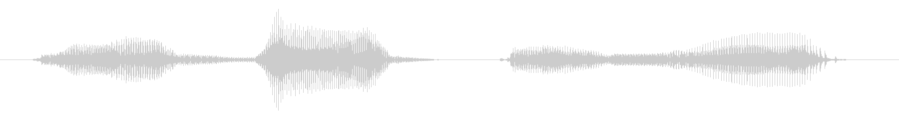 Do your best. The voice of a 5-year-old boy.'s unreproduced waveform