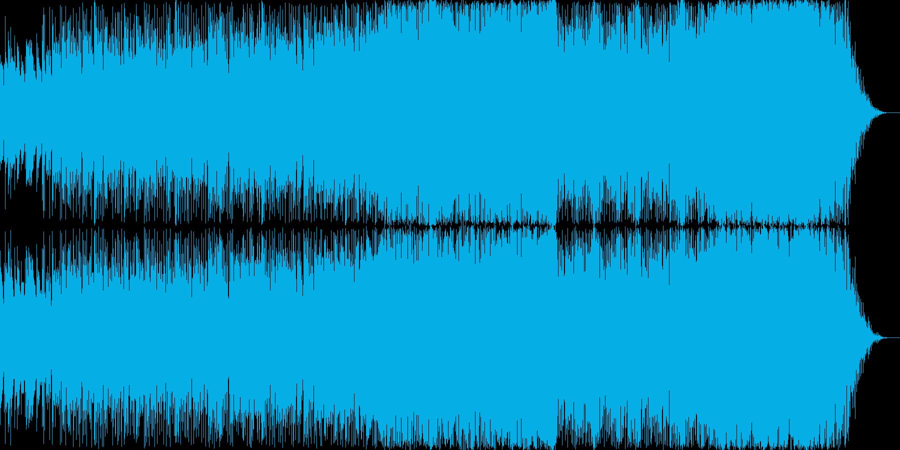 8bit音源 空を駆ける飛行艇のイメージの再生済みの波形