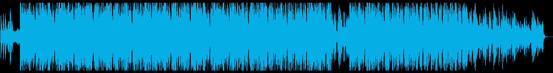 おしゃれなサックス ジャズ&ヒップホップの再生済みの波形