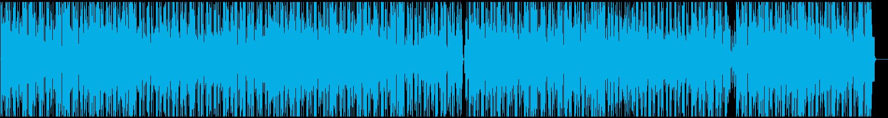 ピアノのメロディーを備えた、軽くて...の再生済みの波形