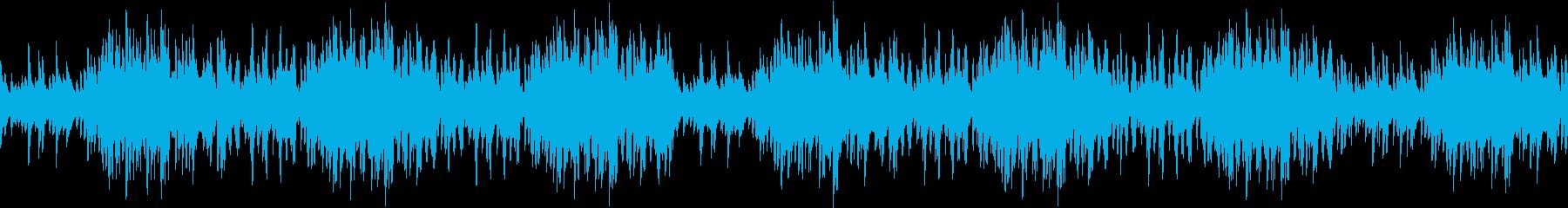 壮大・RPG・ゲーム・アニメ・ピアノの再生済みの波形