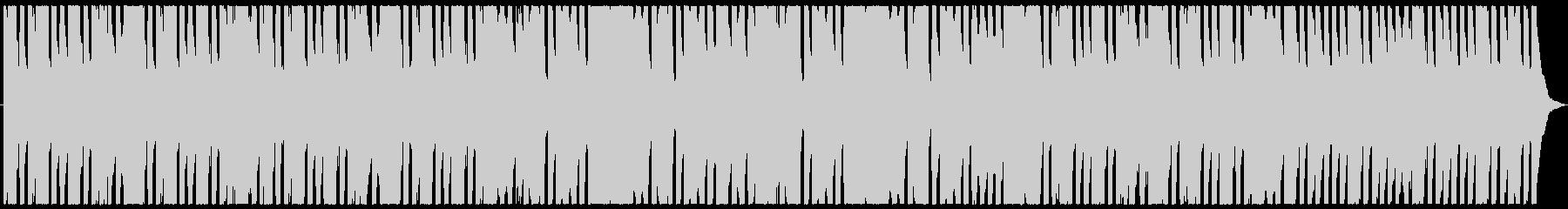 ほのぼのしたフルートと木琴のBGMの未再生の波形