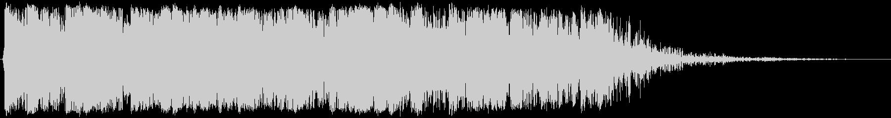 空爆(屋内)02の未再生の波形