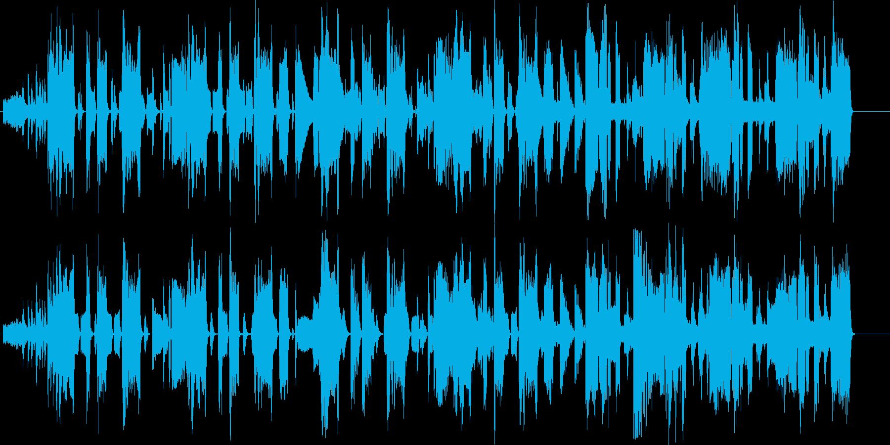 かっこいい大人なファンクミュージックの再生済みの波形