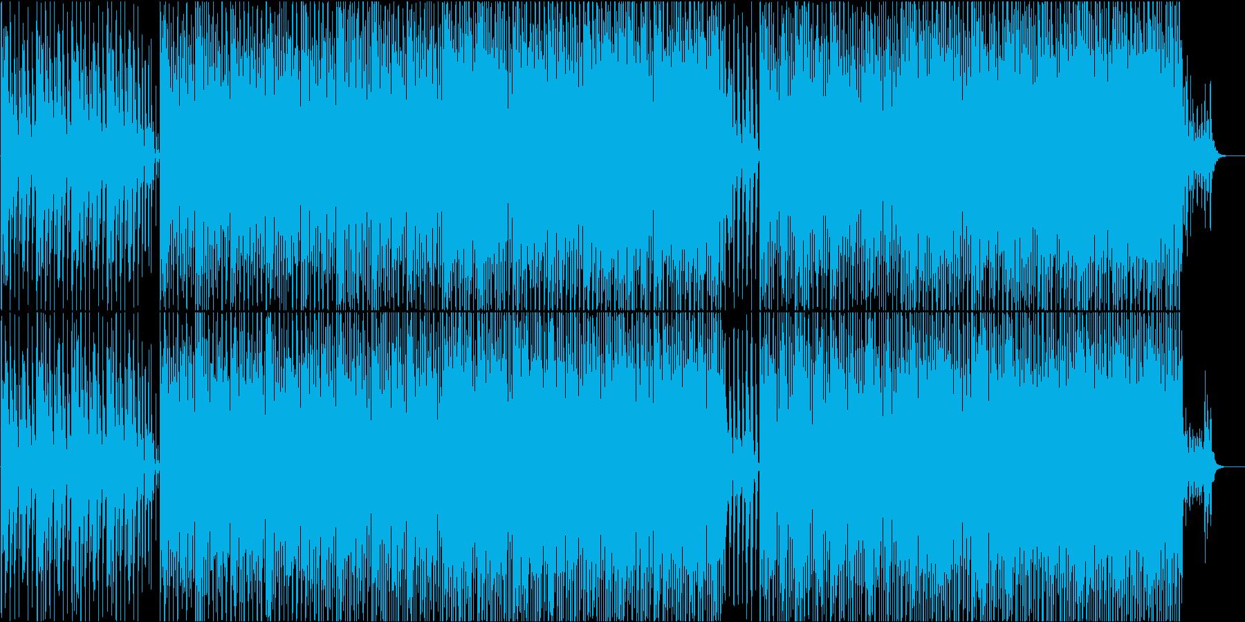 企業VPや映像に 自信が湧いてくる曲の再生済みの波形