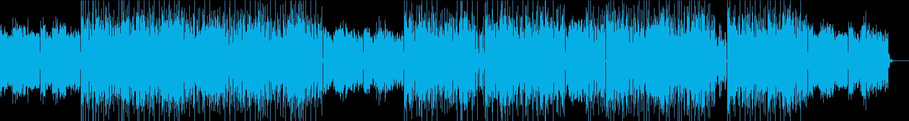 Prefuse 73風 - ジャズヒップの再生済みの波形