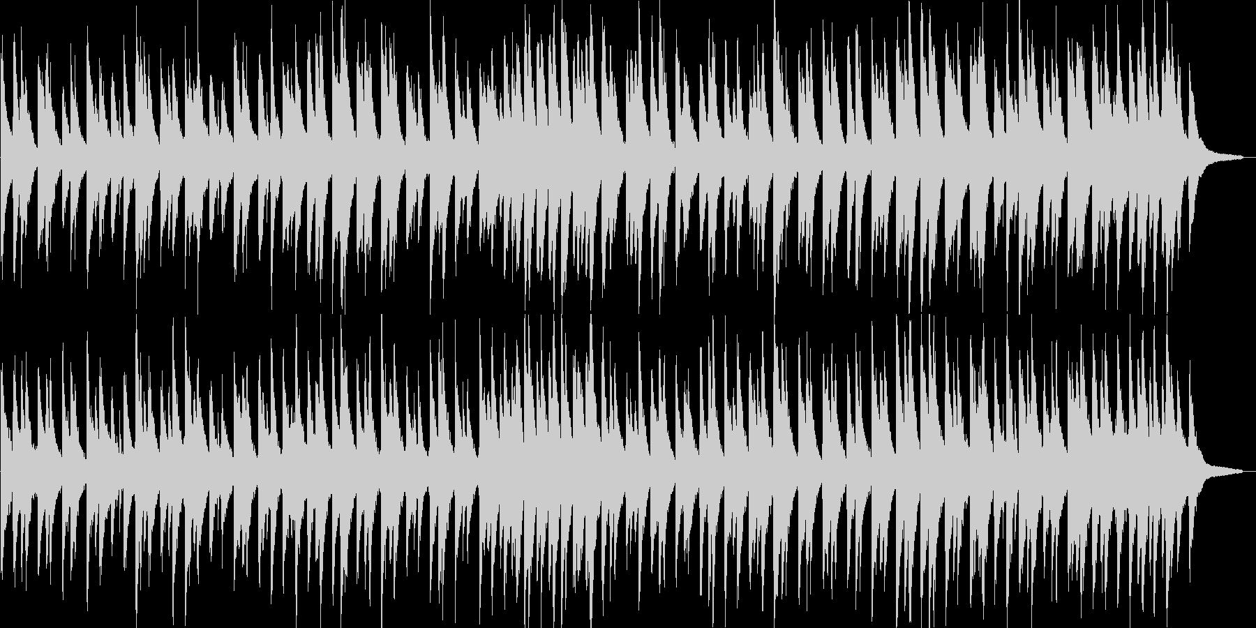 リラックス・ピアノ・ジャズ・ブルース調の未再生の波形