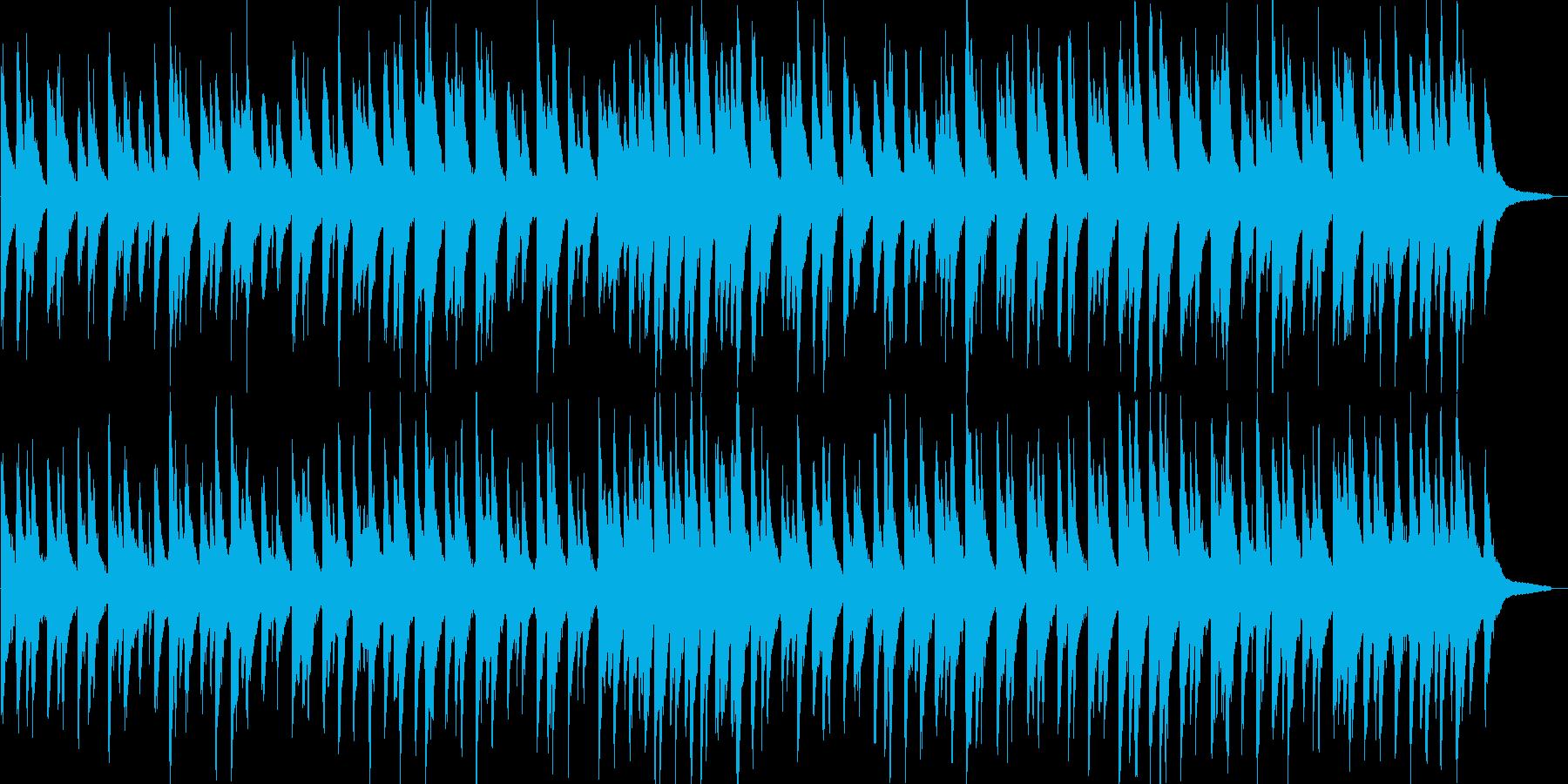 リラックス・ピアノ・ジャズ・ブルース調の再生済みの波形