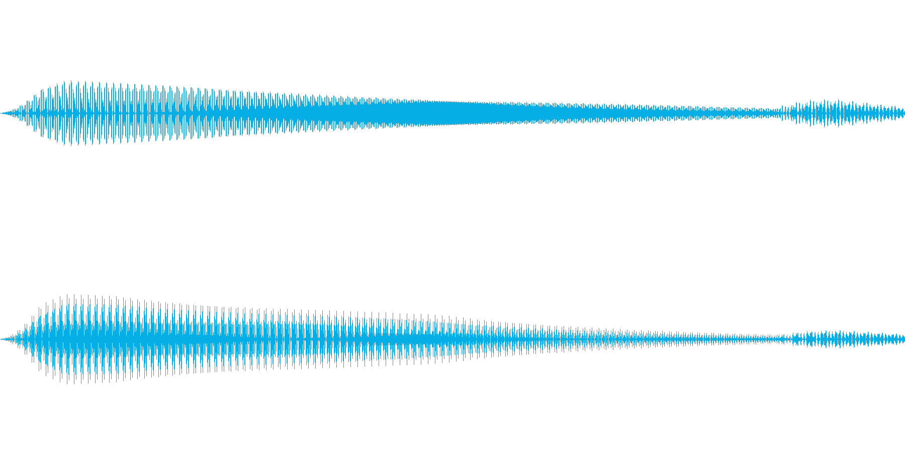決定/クリック/選択音(ピコッ)の再生済みの波形