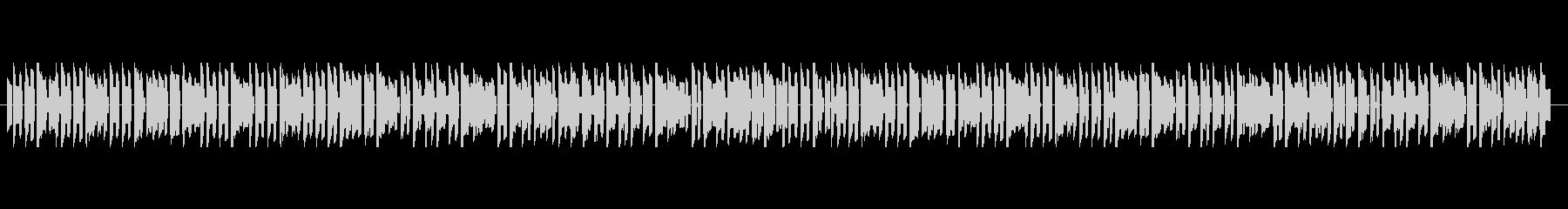 ジングルベル 8bitゲームアレンジの未再生の波形