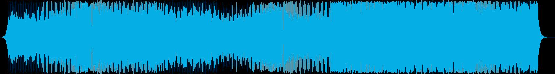 PV-競技シーン-エレクトロダンス-未来の再生済みの波形