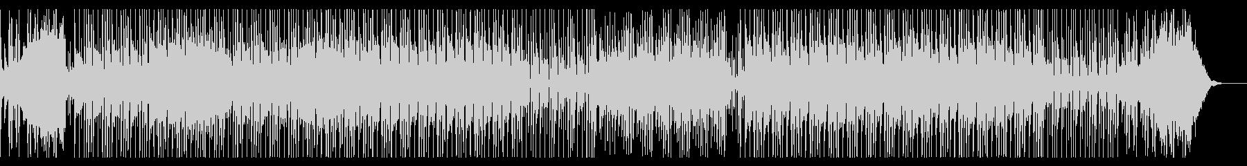 カリンバの音色が可愛らしいポップスの未再生の波形