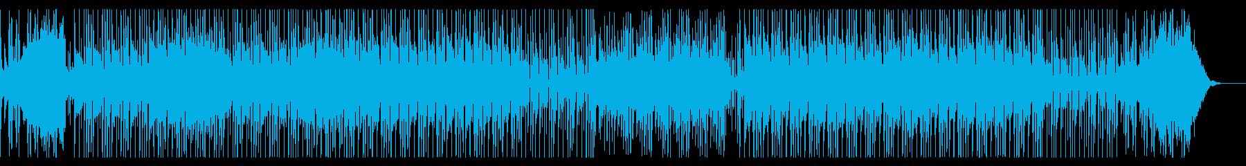 カリンバの音色が可愛らしいポップスの再生済みの波形