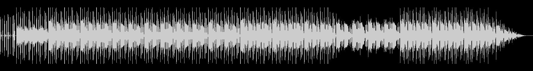 ほのぼのしたローファイ・チル・ビートの未再生の波形