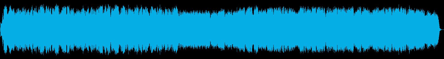 自然の揺らぎ 竹笛の即興音楽の再生済みの波形