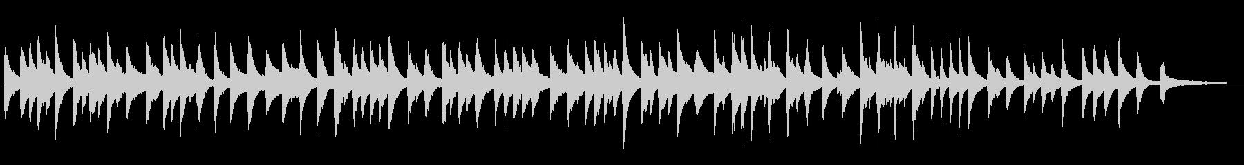大きな栗の木の下で/ラウンジピアノソロの未再生の波形
