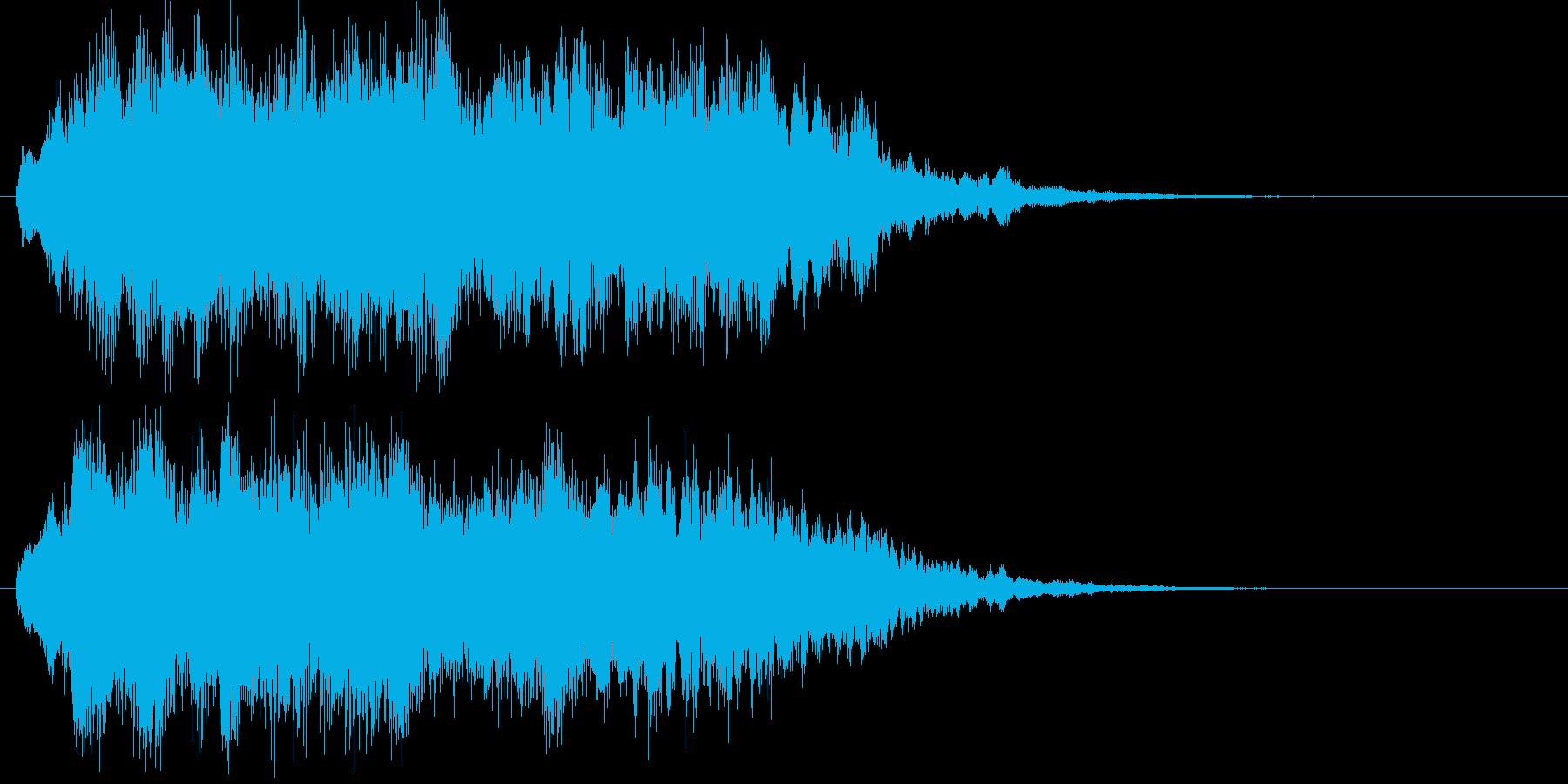 キラキラ↑上昇フレーズ 不思議の再生済みの波形